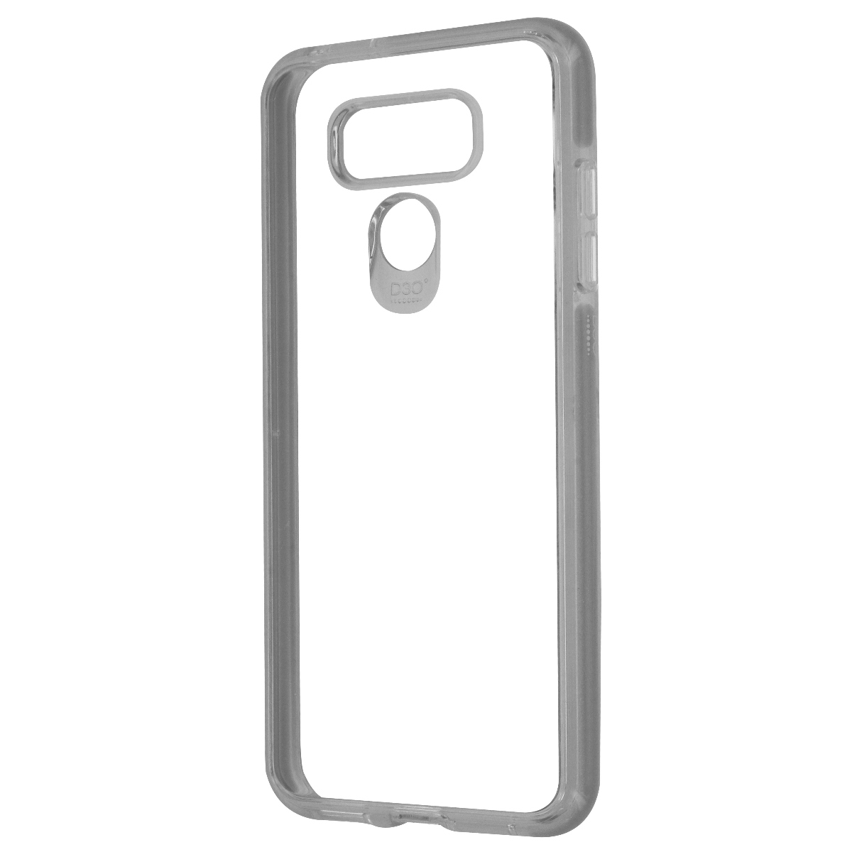 Gear4 D30 Piccadilly Series Hybrid Hard Case Cover for LG G6 - Clear/Titan Gray
