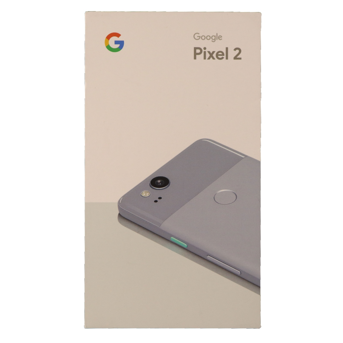 Google Pixel 2 Empty Box Only NO Phone NO Manual Kinda Blue