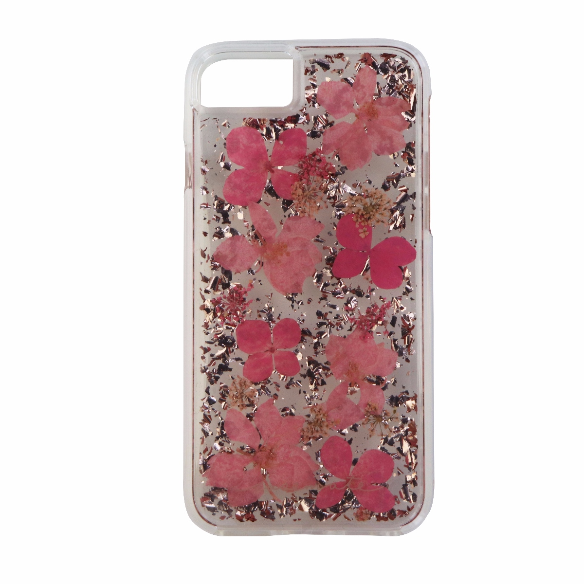Case-Mate Karat Petals Series Protective Case Cover for iPhone 8 7 Pink Flowers