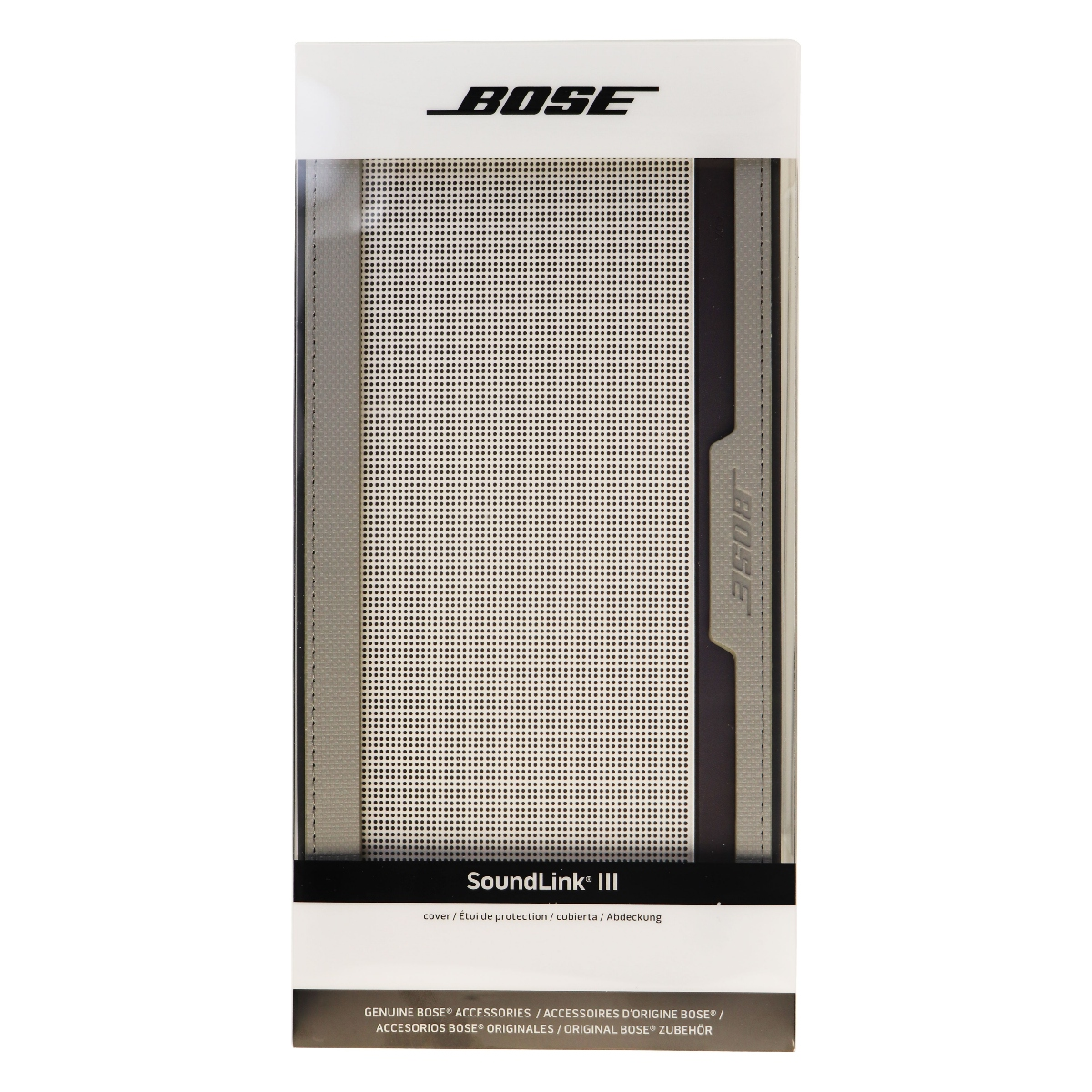 Genuine Bose Protective Cover Case for SoundLink III Bluetooth Speaker - Gray