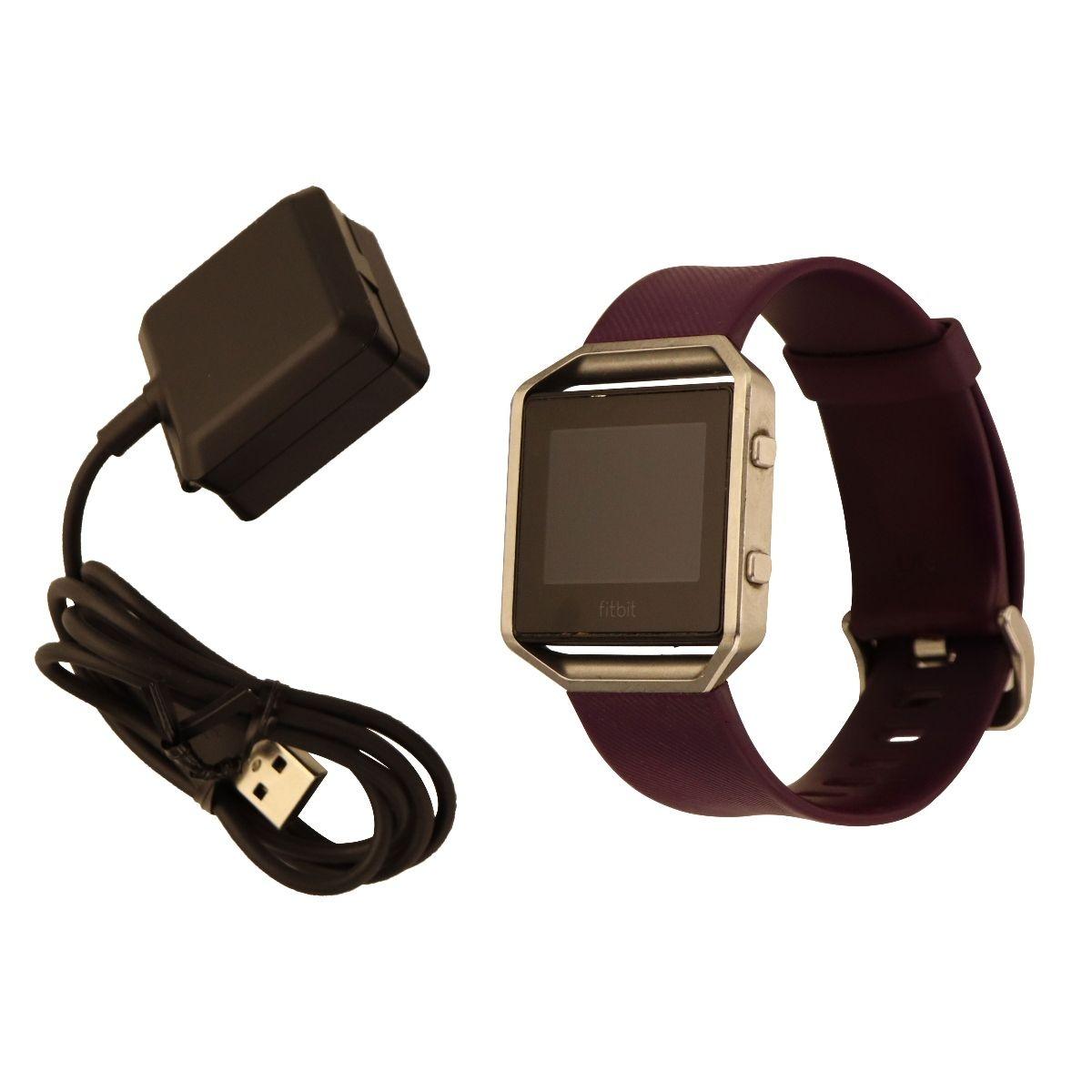 Simple Cell Fitbit Alta Plum Size Large Oem Blaze Smart Fitness Watch Purple Silver Us Edition