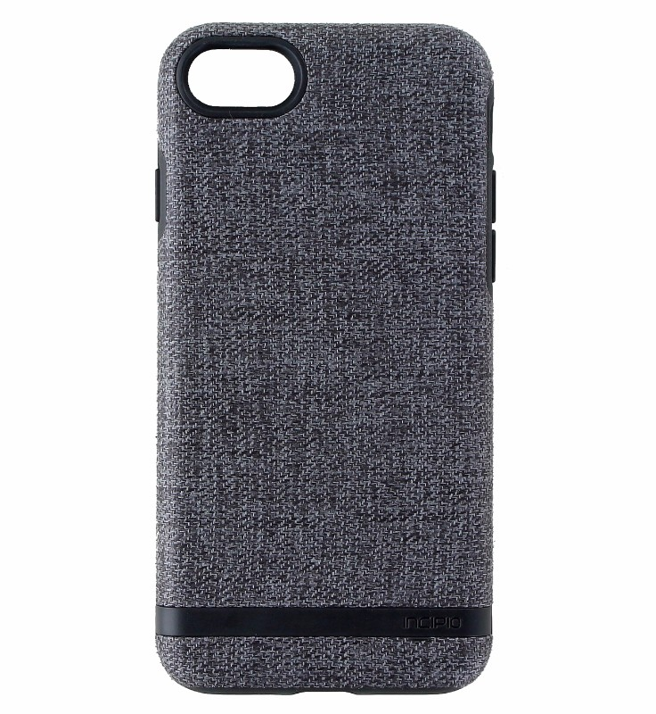 Incipio Esquire Series Hybrid Case Cover for Apple iPhone 8 / 7 - Gray / Black