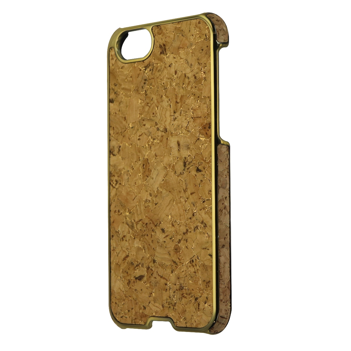 Agent 18 Inlay Series Cork Case Cover for Apple iPhone 6s and 6 - Cork / Gold