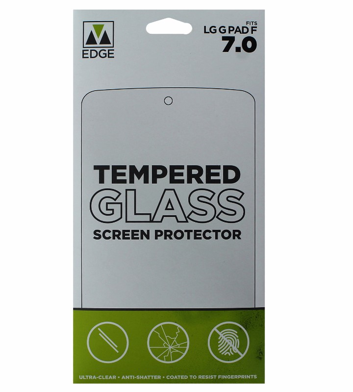 M-Edge Tempered Glass Screen Protector for LG G Pad F 7.0 - Clear