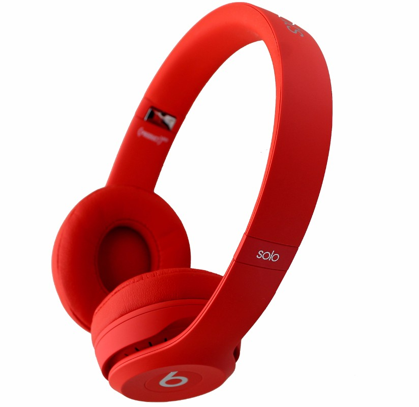 Beats by Dr.Dre Solo3 Wireless On-Ear Headband Headphones MP162LL/A - Citrus Red