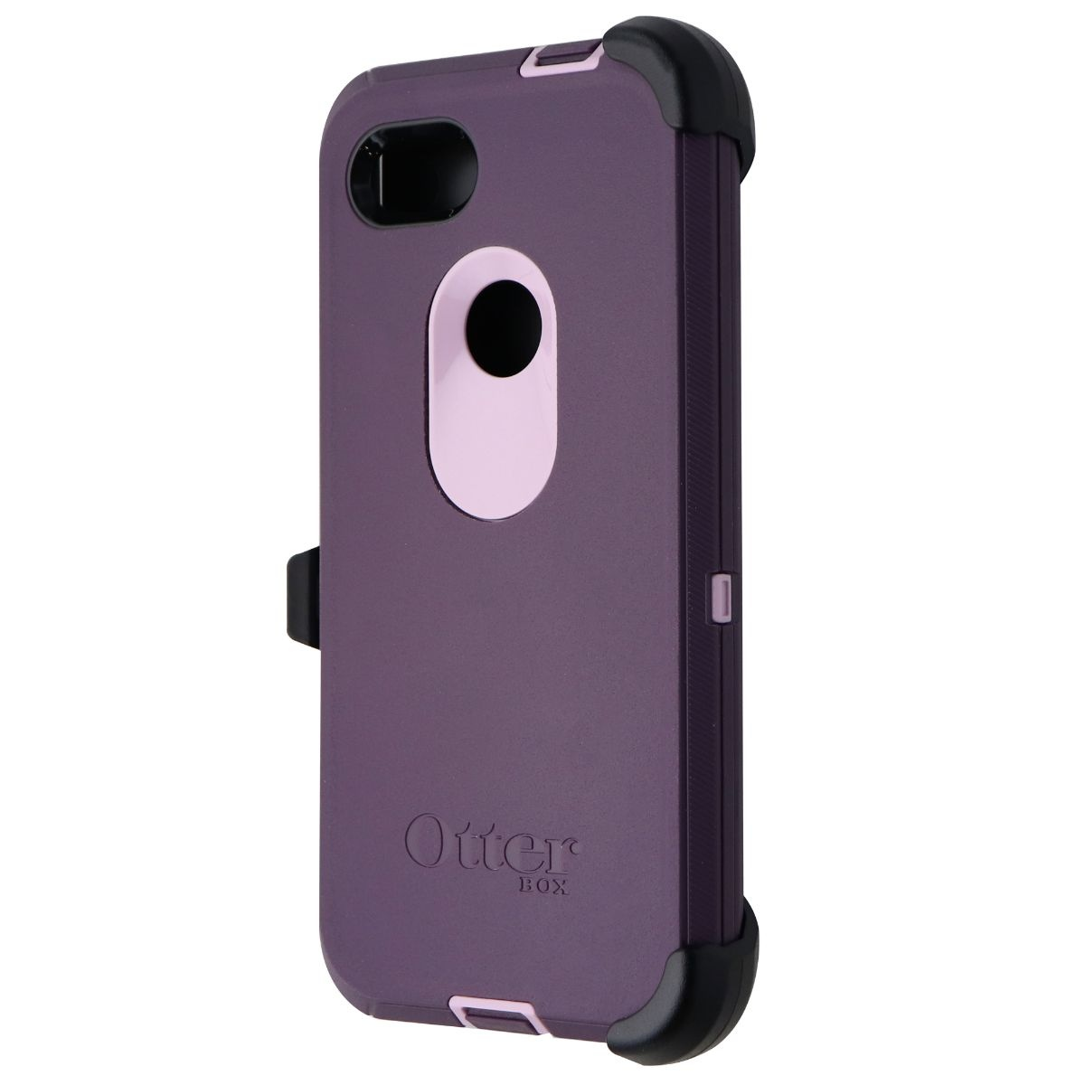 OtterBox Defender Series Case and Holster for Google Pixel 3a XL - Purple Nebula