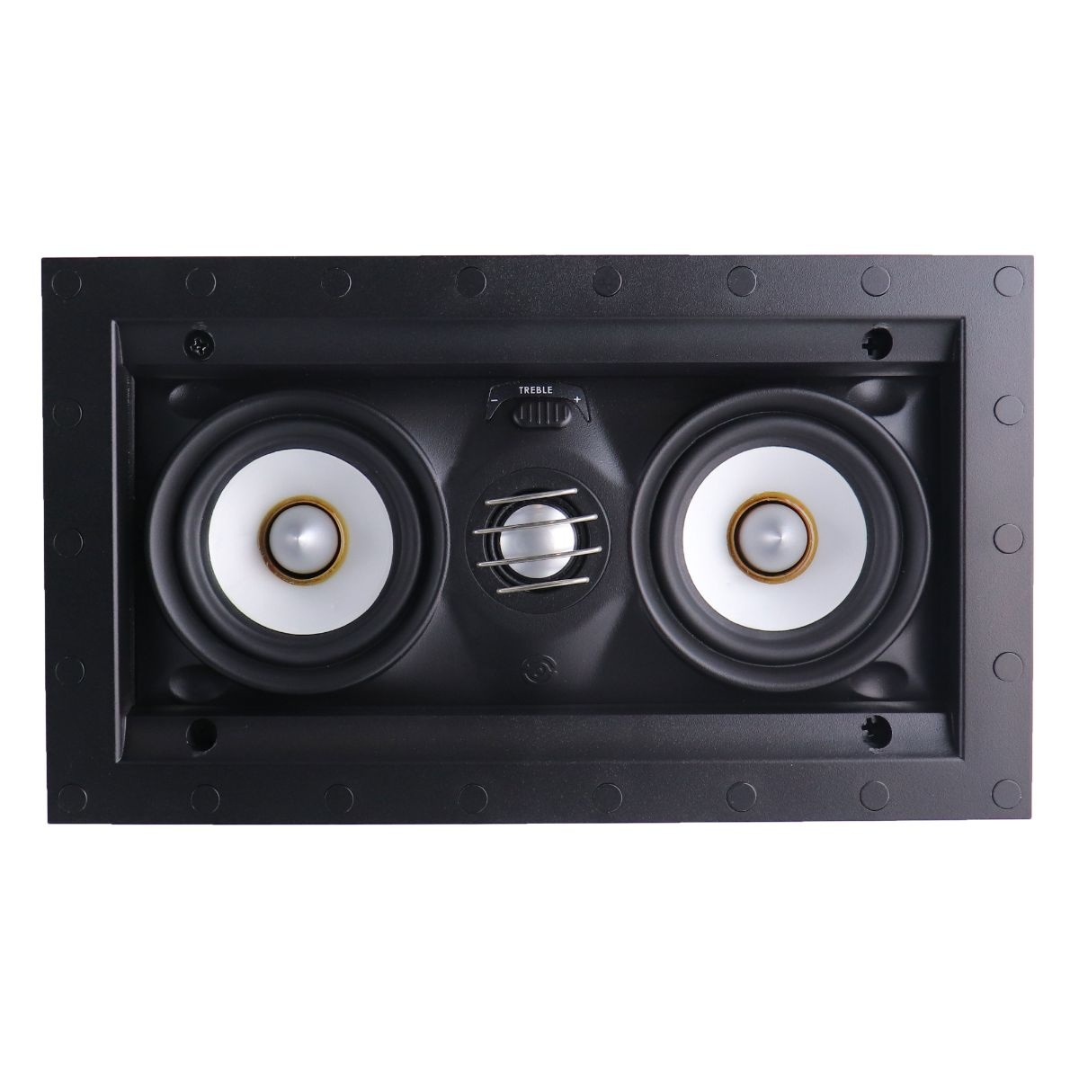 SpeakerCraft Profile AIM LCR3 - Three In-Wall Speaker - Black