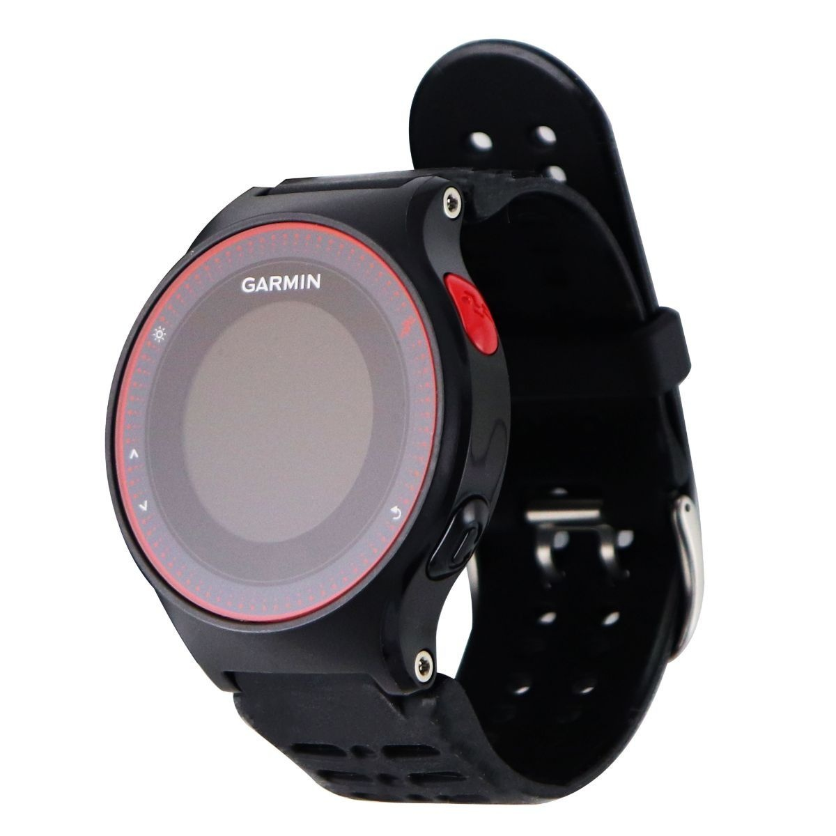 Garmin Forerunner 225 GPS Running Watch with Wrist-based Heart Rate - Black/Red