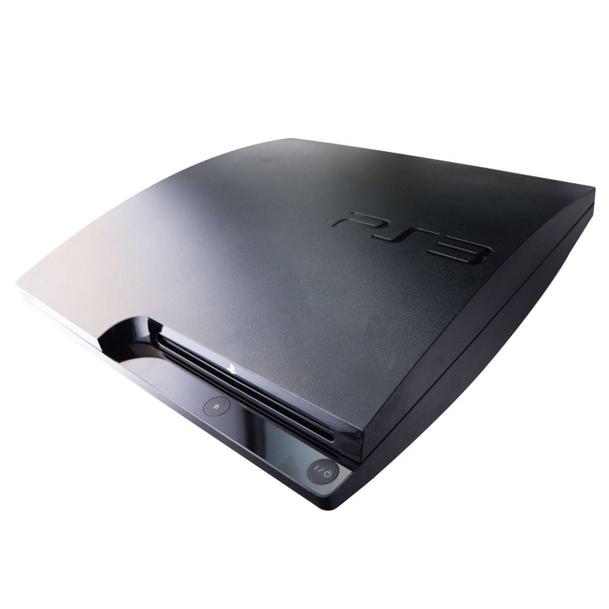 Sony PlayStation 3 Slim PS3 (320GB) Gaming Console - Black (CECH-3001B)