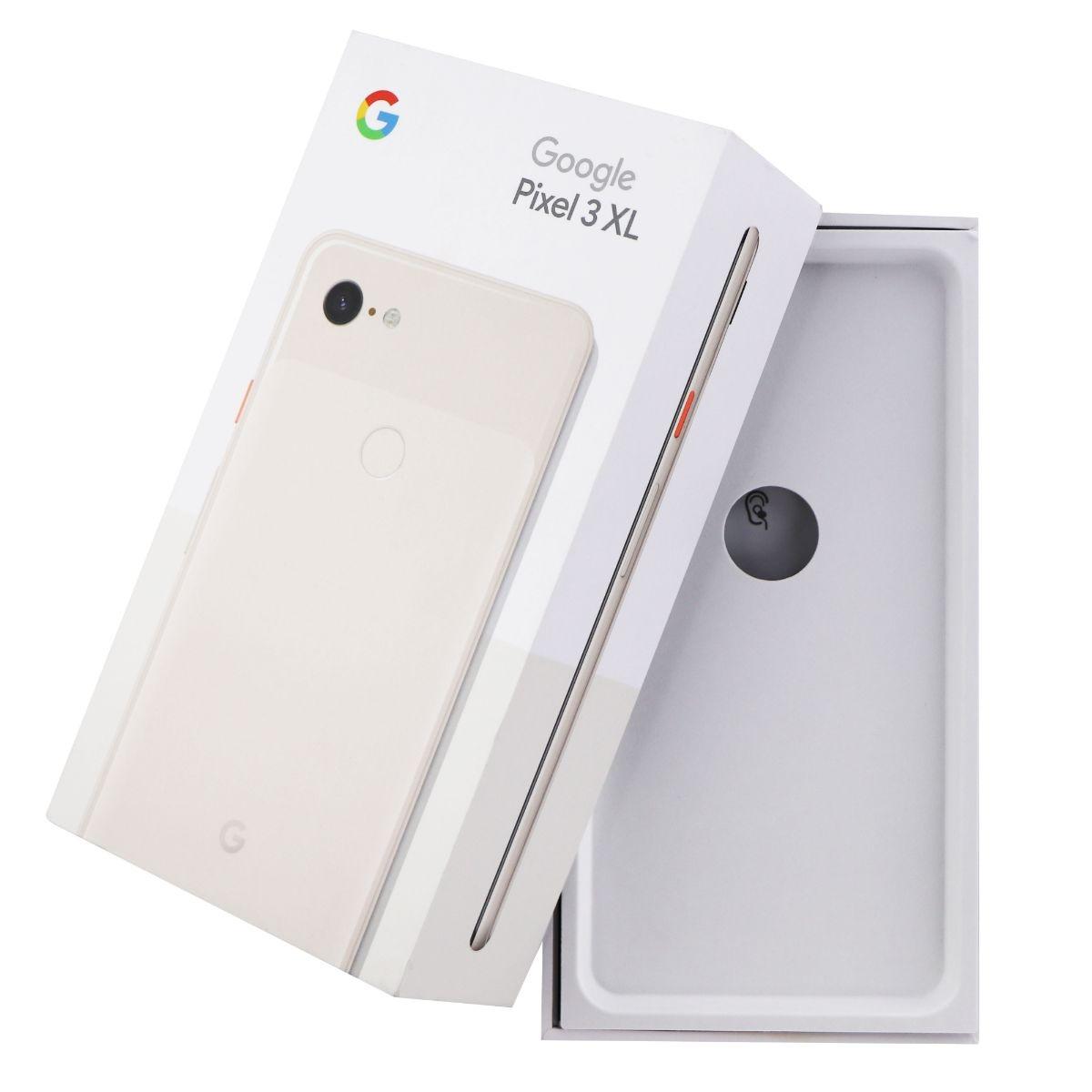 RETAIL BOX - Google Pixel 3 XL - 128GB Not Pink - NO DEVICE