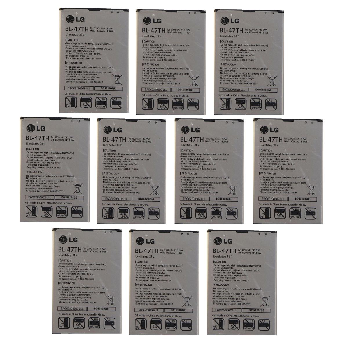 KIT 10x LG BL-47TH Li-ion Battery 3200mAh for Optimus G Pro