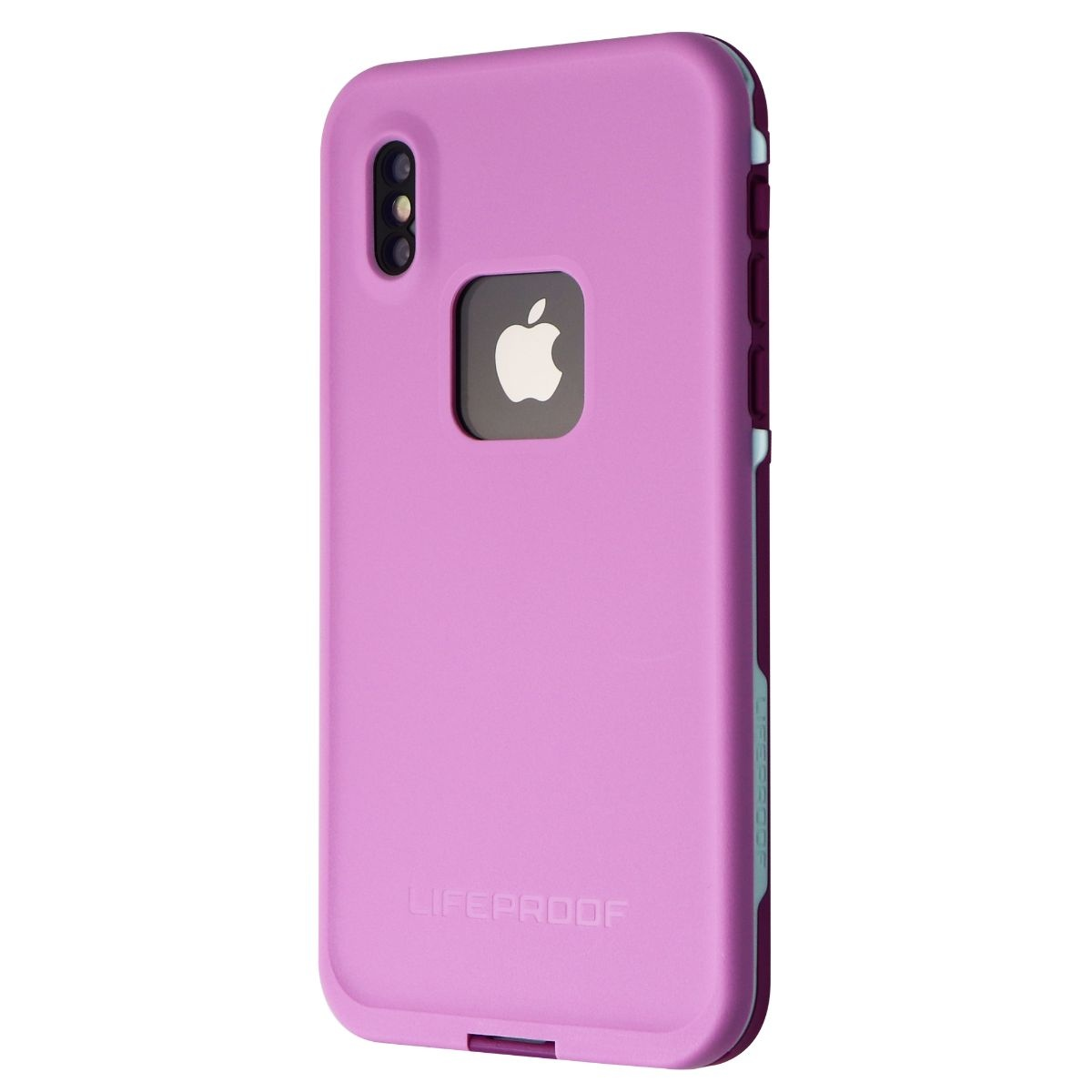 LifeProof FRE Series Case for Apple iPhone XS - Frost Bite (Orchid/Purple/Aqua)