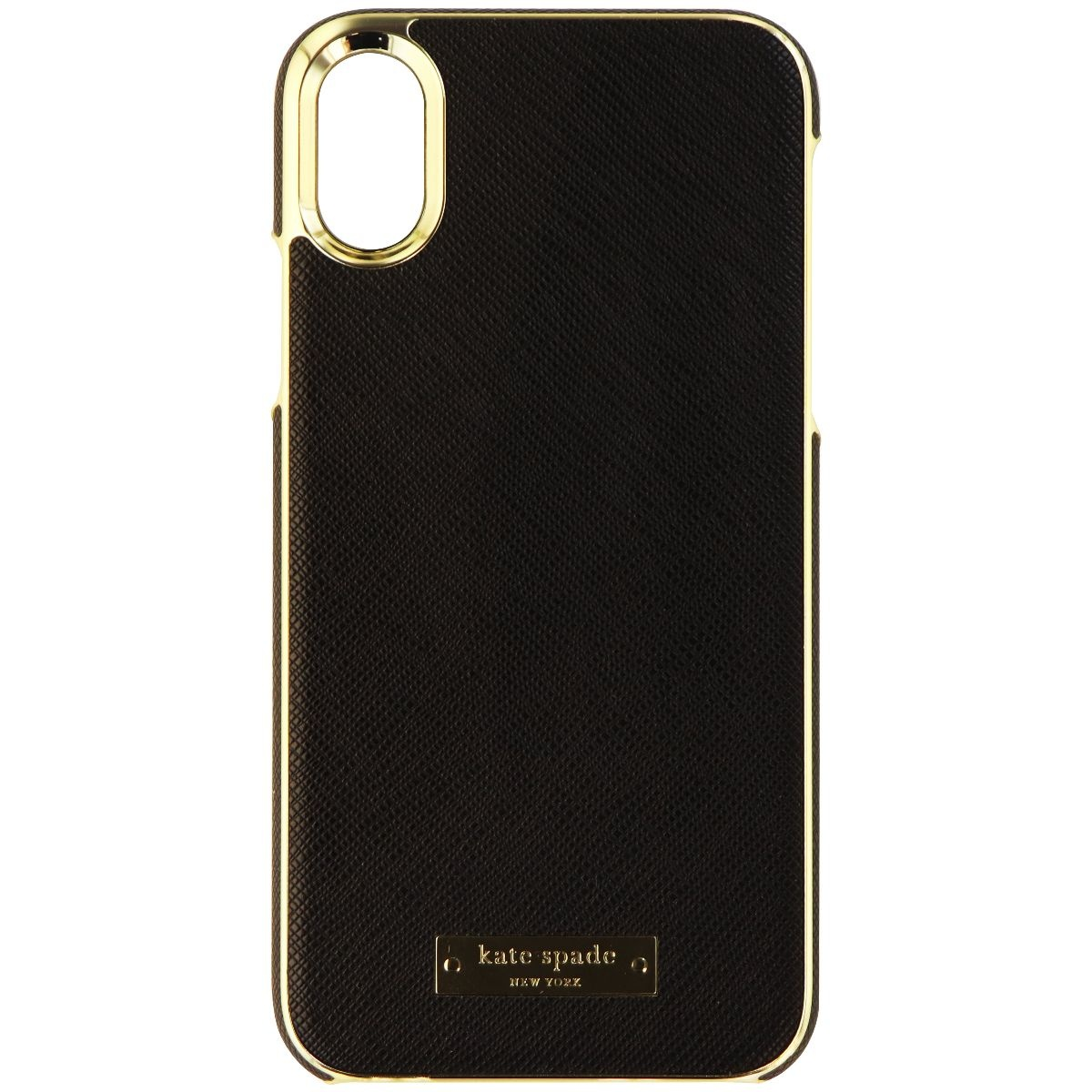 best loved e475f fe5f9 Kate Spade New York Wrap Series Hard Case for iPhone X 10 - Black ...