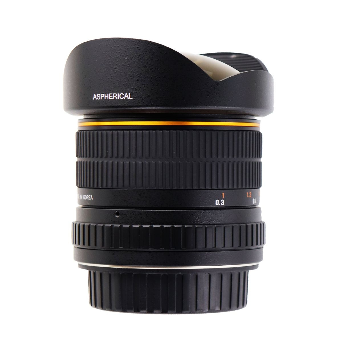 Bower SLY358C Ultra Wide-Angle 8mm f/3.5 Fisheye Lens for Canon