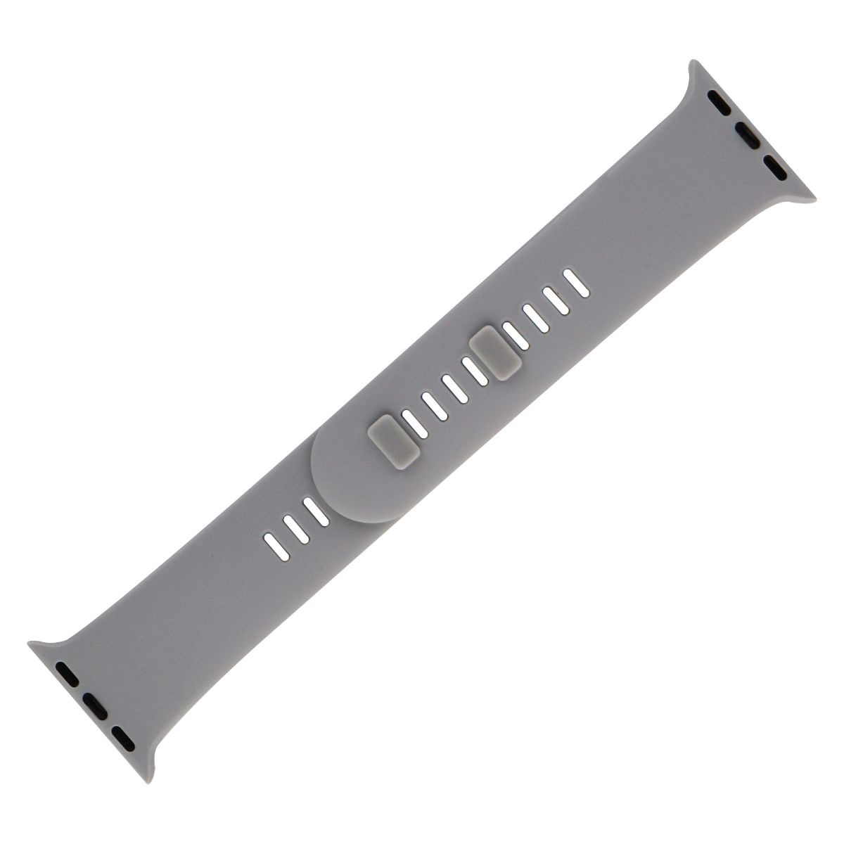Sport Band Silicone Watch Band for Apple Watch 38mm - Gray - WESC03802