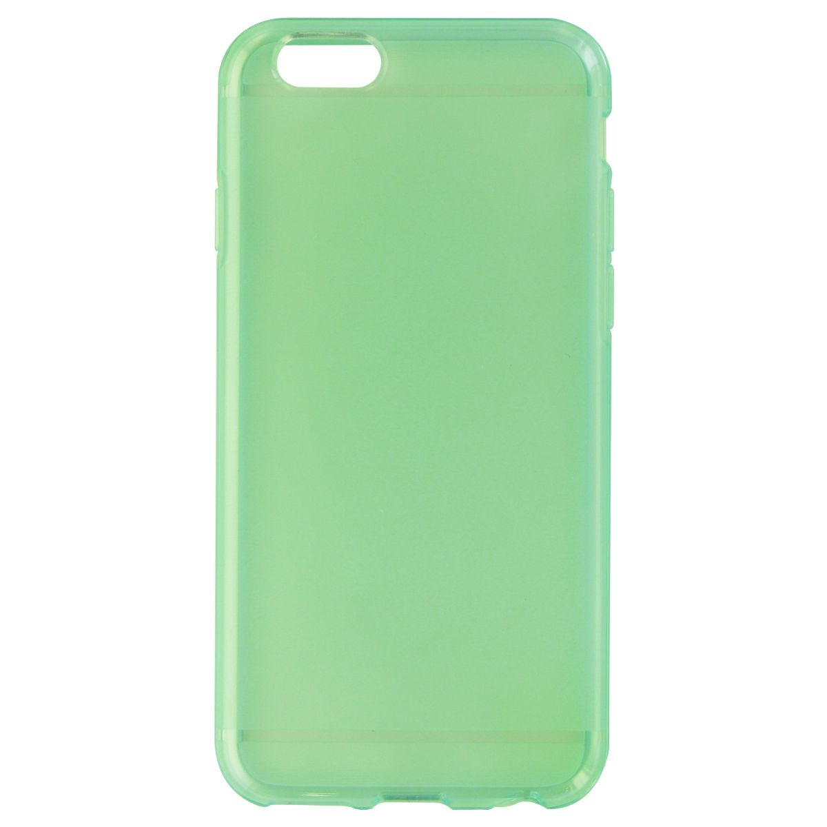 huge selection of 07244 473b8 Details about Verizon High Gloss Silicone Case for Apple iPhone 6S / 6 -  Transparent Green
