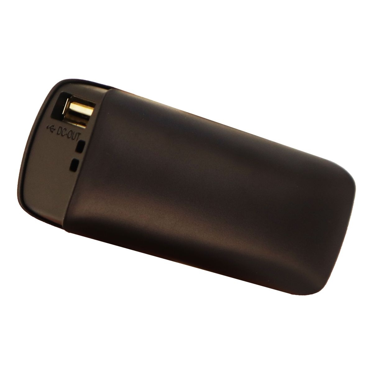 Electronic Necessities Rechargeable 2600mAh Power Bank Single USB - Black