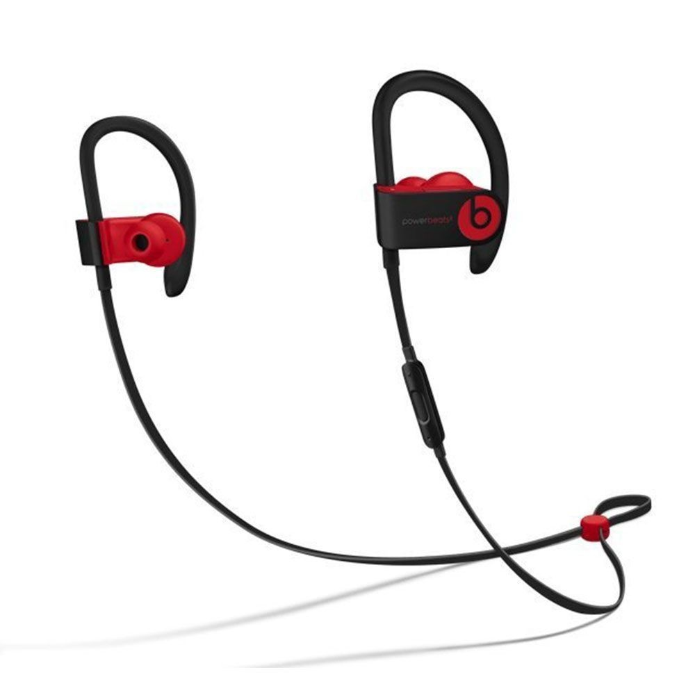Beats Powerbeats3 Wireless Ear-Hook Headphones Decade Collection Black/Red MRQ92