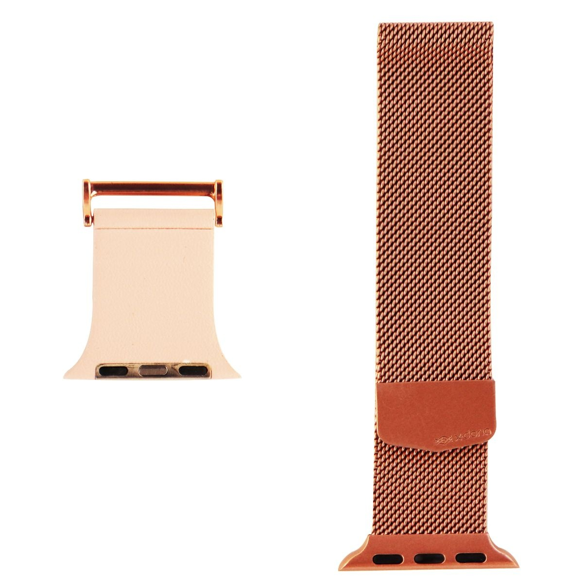 X-Doria Hybrid Mesh Band for 38mm Apple Watch - Rose Gold / Pink