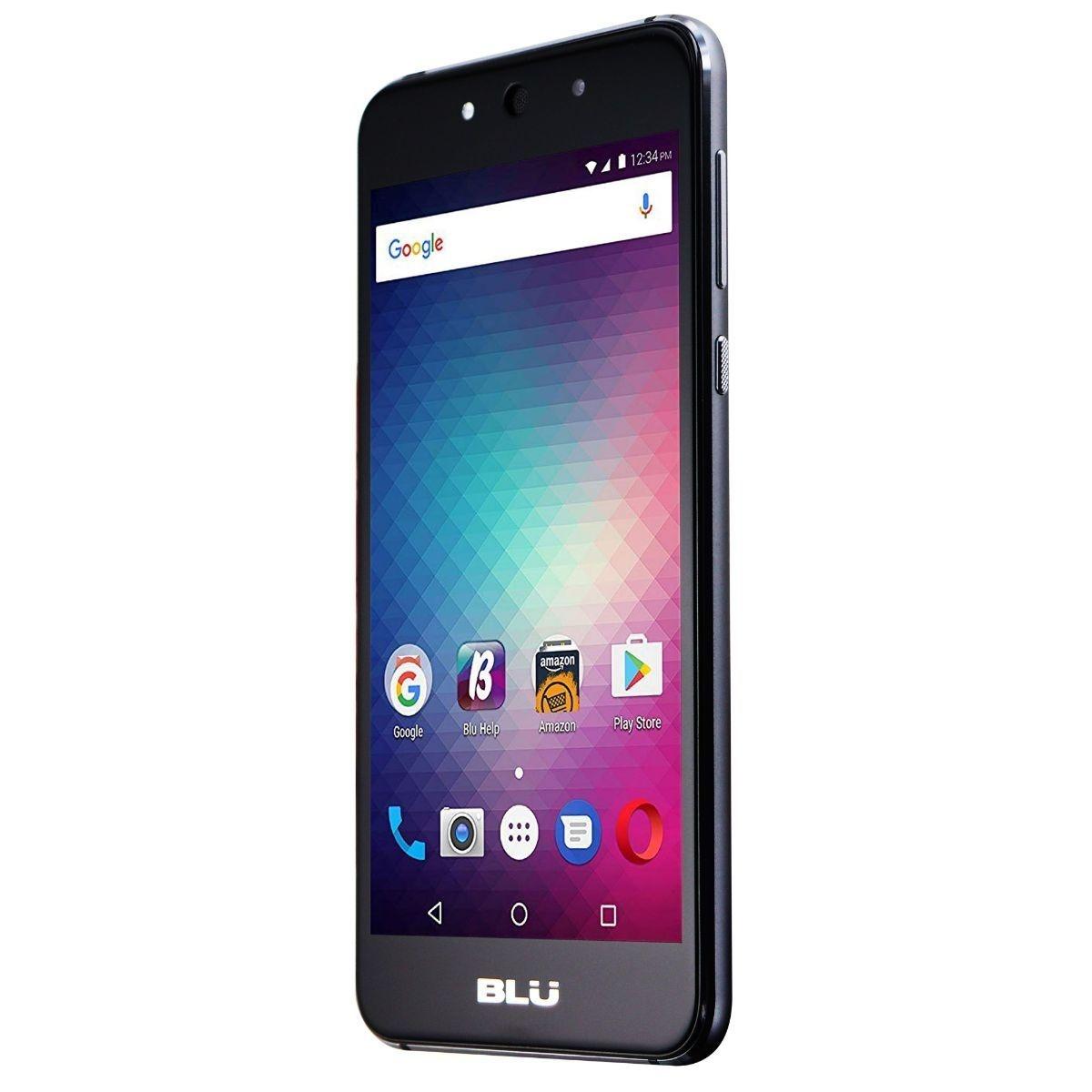 BLU Grand Max Smartphone (G110Q) International GSM Unlocked - 8GB / Gray