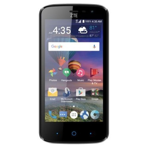 ZTE Majesty Pro LTE 8GB Smartphone - Simple Mobile by T-Mobile - Black
