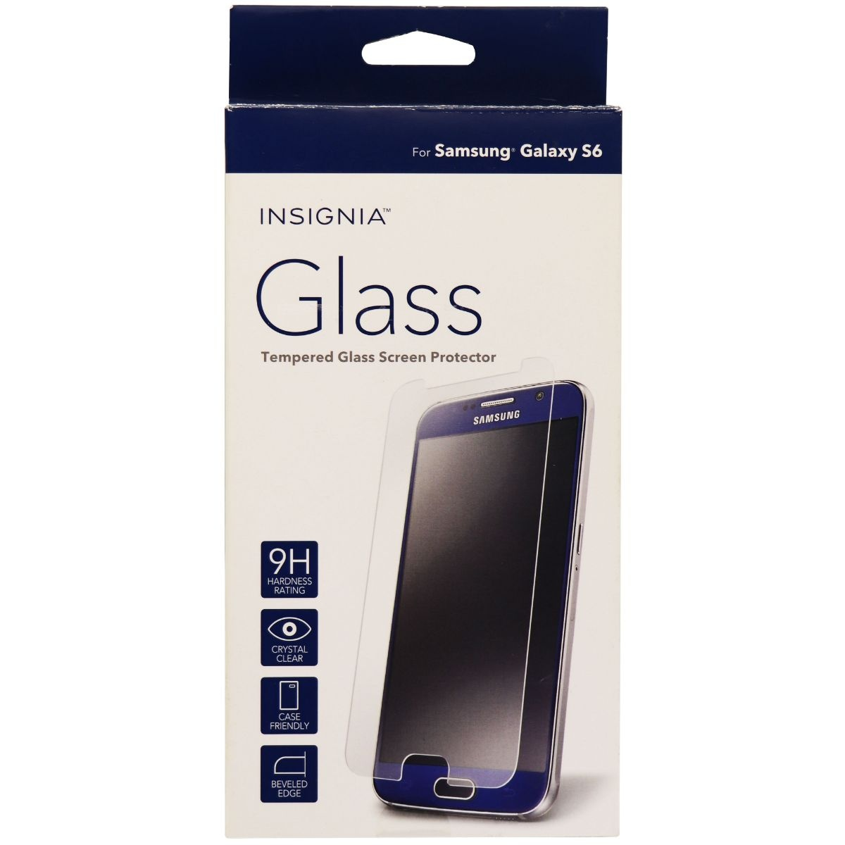 Insignia Tempered Glass Screen Protector for Samsung Galaxy S6 - Clear