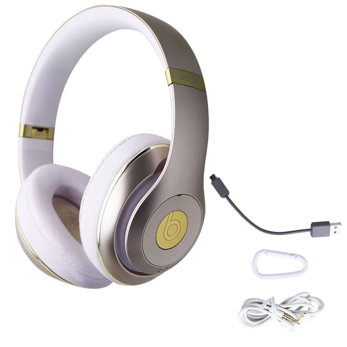 Beats by Dr. Dre Studio 2 Wireless Over-Ear Headphones with Built-in Mic - Gold