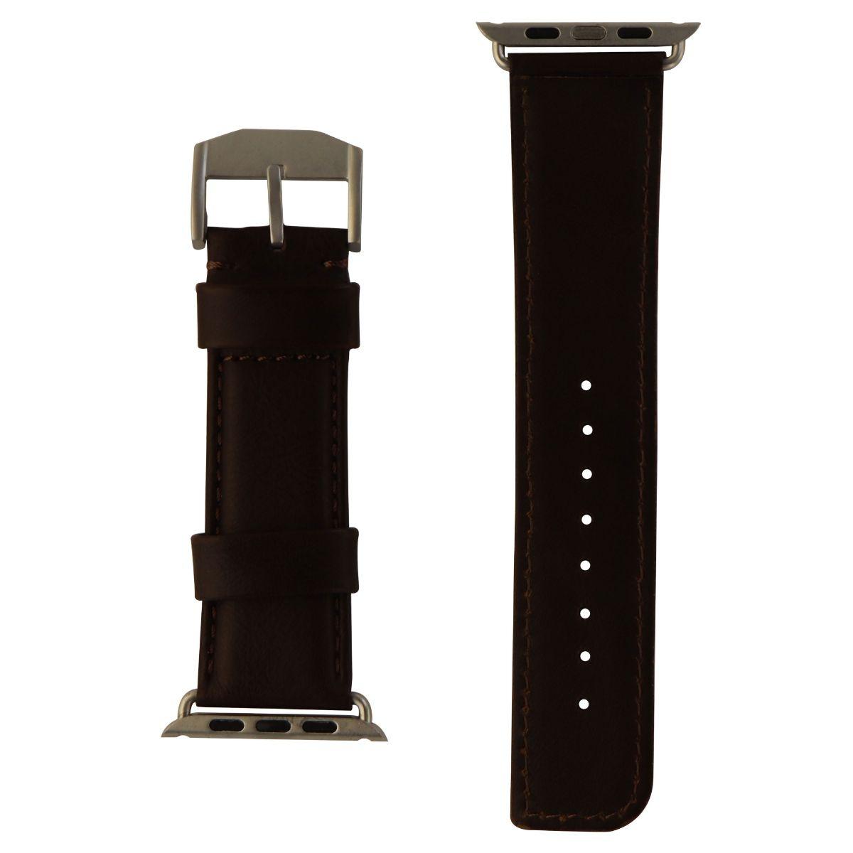 Case-Mate Apple Watch 42mm Signature Leather Watchband - Dark Brown