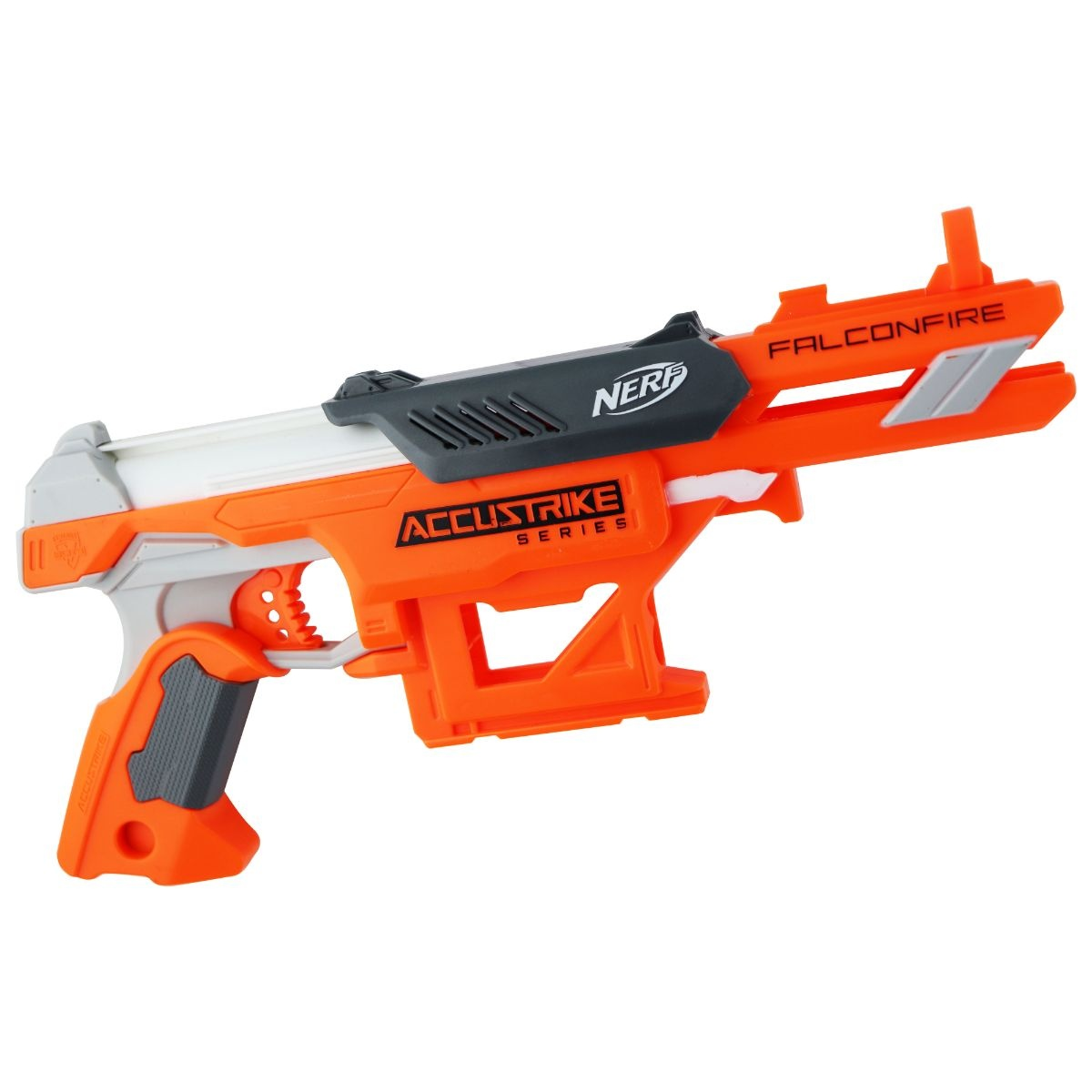 Nerf N-Strike Elite AccuStrike Series Falcon Fire Blaster - Orange / Gray