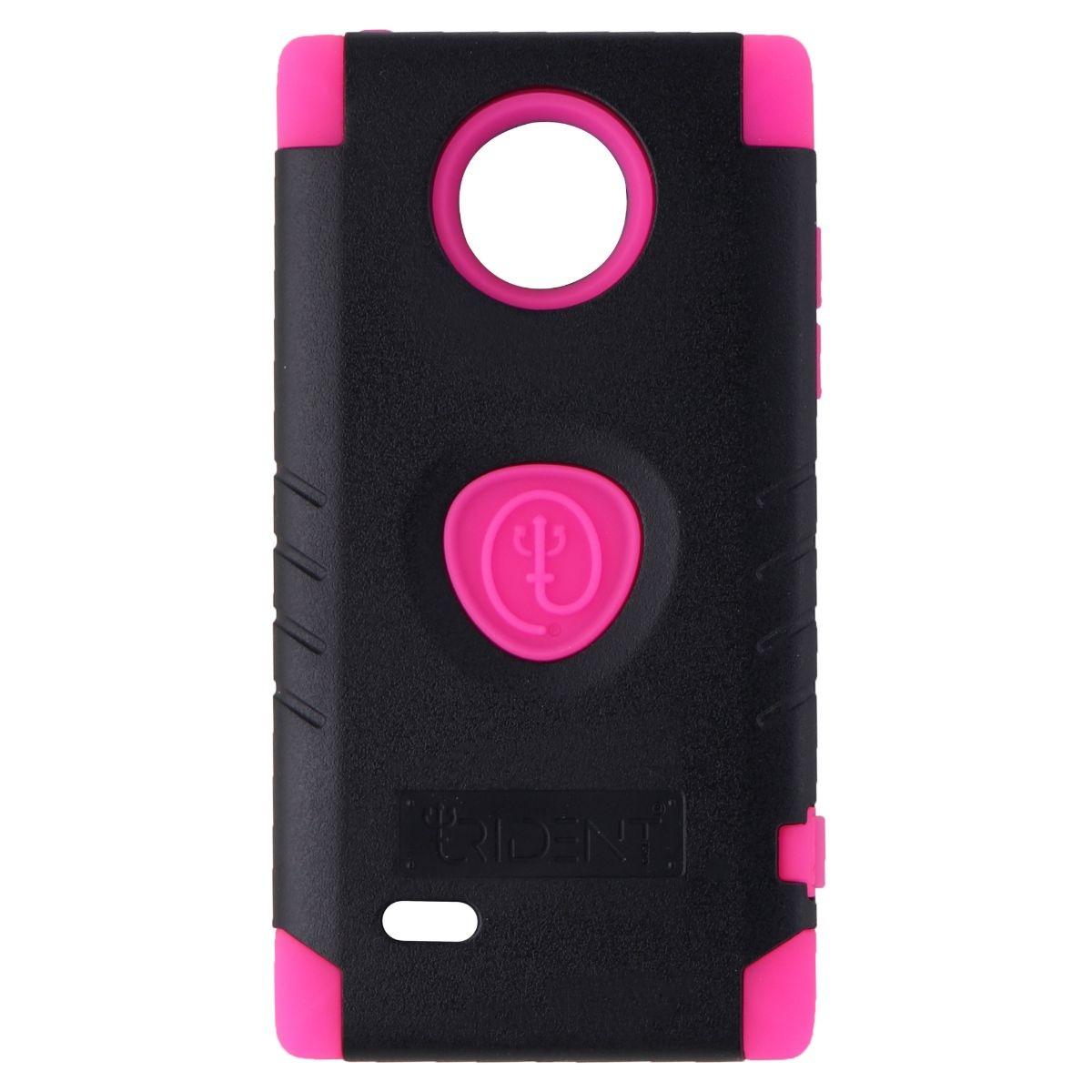 Trident Aegis Series Dual Layer Case for LG Spectrum 2 - Black/Pink