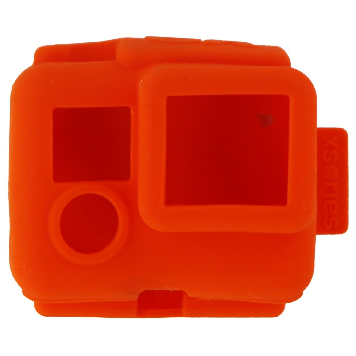 XSories Silicone Cover Case for GoPro Hero, Hero 3, 3+ and Hero 4 - Orange