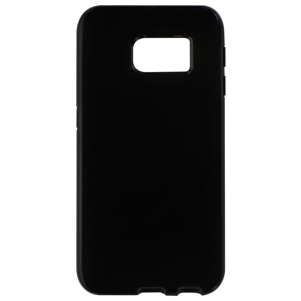 Verizon High Gloss Silicone Cover for Samsung Galaxy S6 Edge - Black