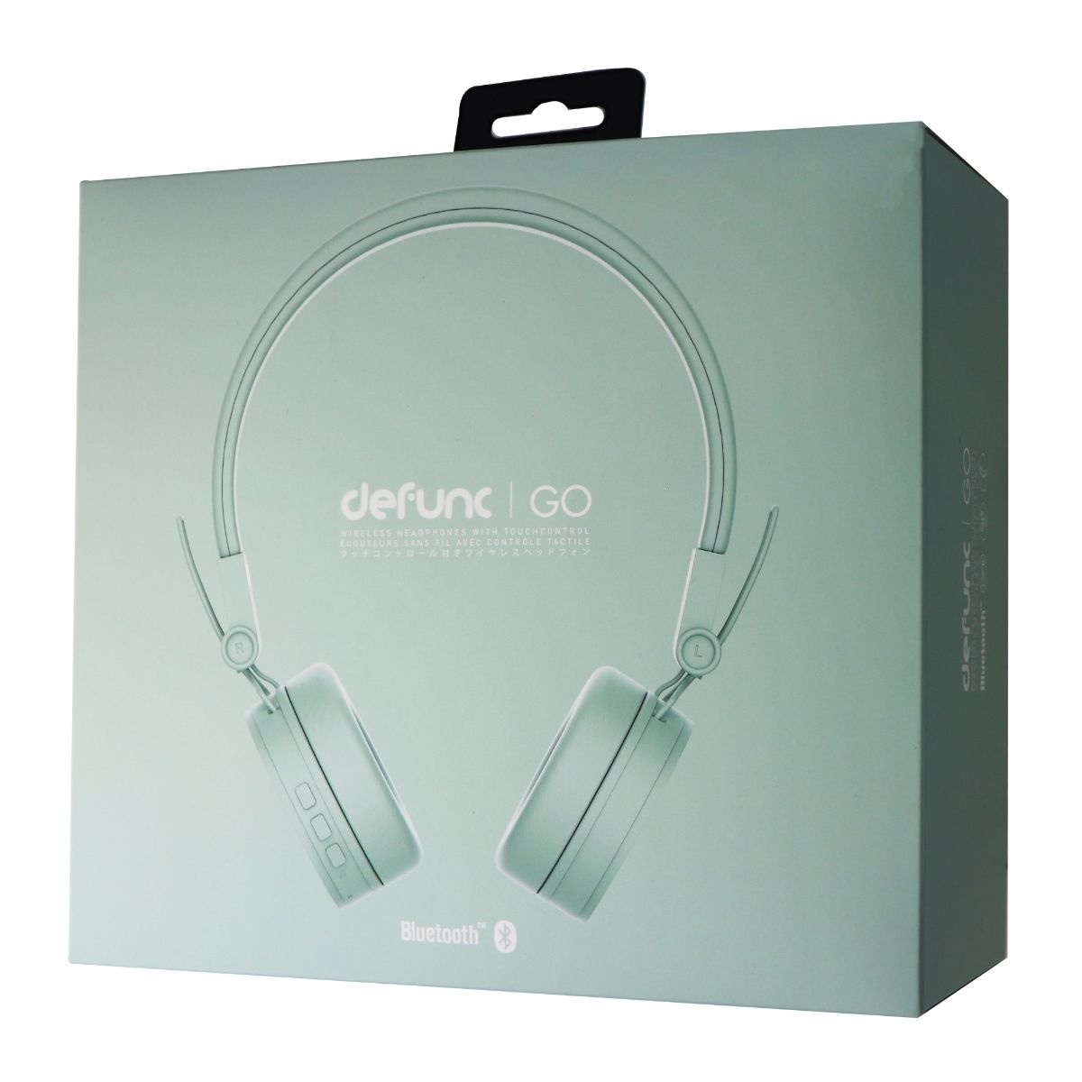 Defunc GO D1138 Wireless Headphones w/ Touch Control - Light Green