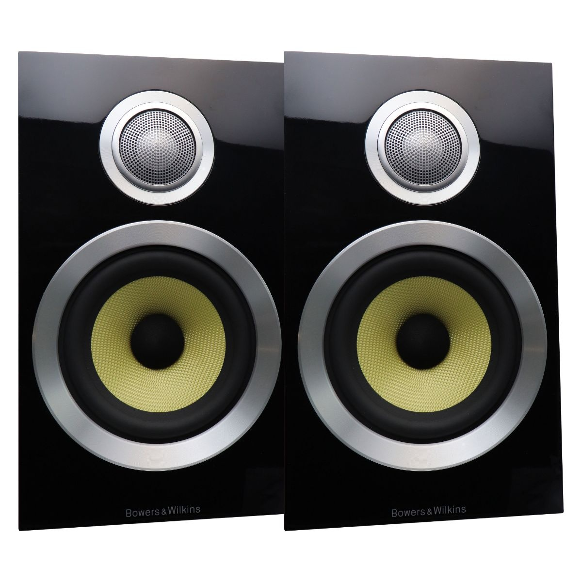Bowers Wilkins CM1 S2 2-Way Bookshelf Speakers - Gloss Black (Pair of 2)