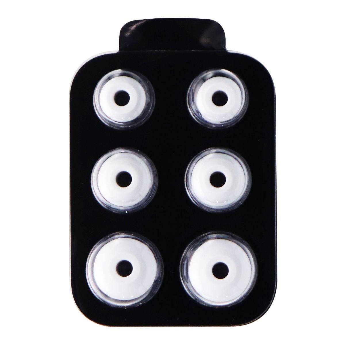 Genuine Beats Replacement Ear Gels for BeatsX Headphones - Matte Silver
