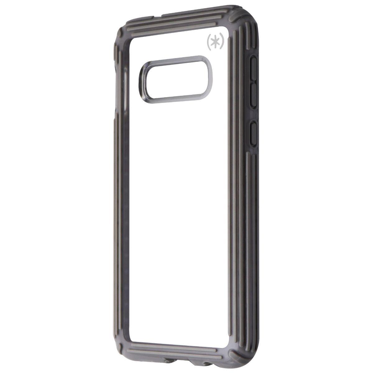 Speck Presidio V-Grip Series Case for Samsung Galaxy S10e - Clear / Gray