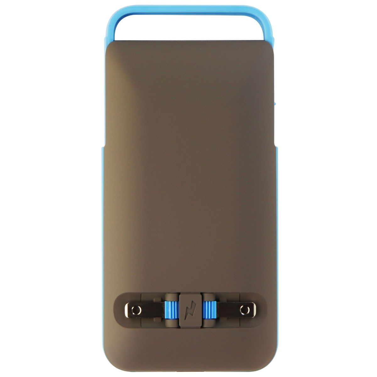 Prong 3,500mAh PWR Case with Wall Plugs for Apple iPhone 6s/6 - Turquoise/Grey