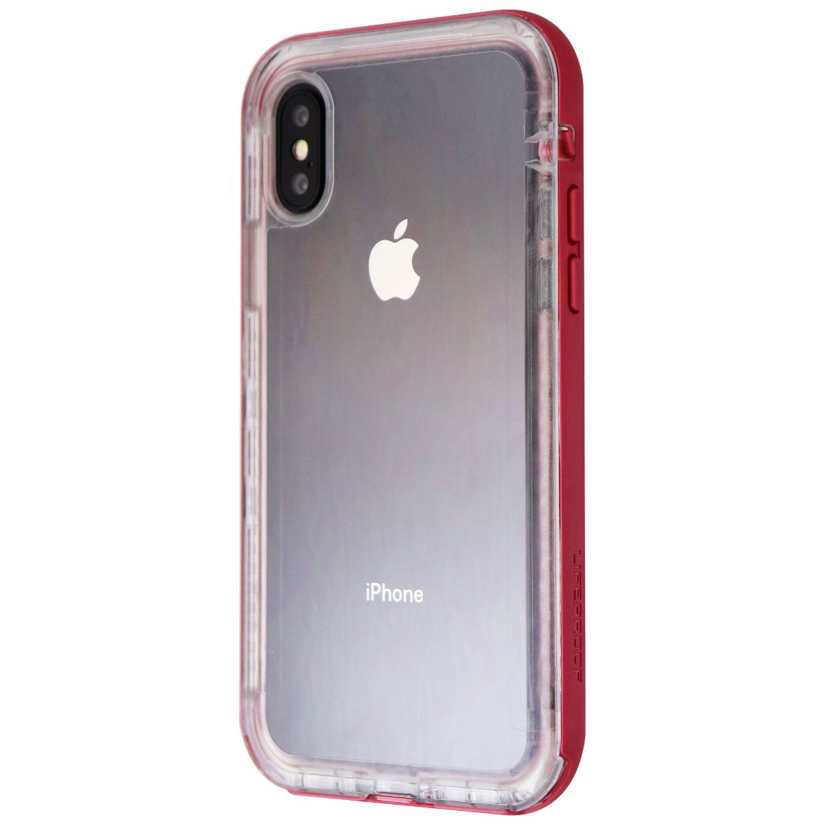 Lifeproof NEXT Series Case for Apple iPhone X and XS - Cactus Rose (Clear/Pink)
