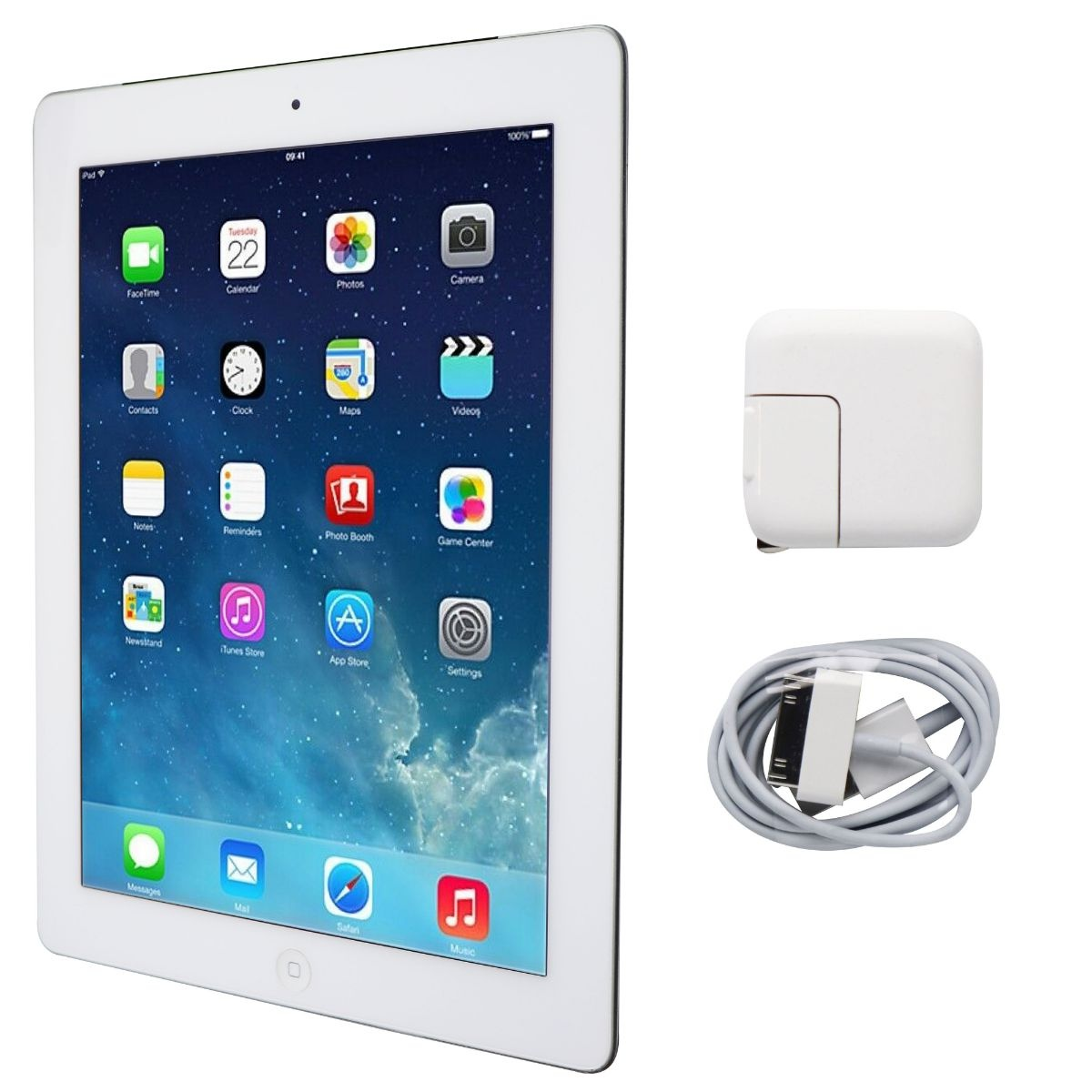 Apple iPad 9.7-inch (3rd Generation) Tablet A1430 (AT&T Locked) - 64GB / White