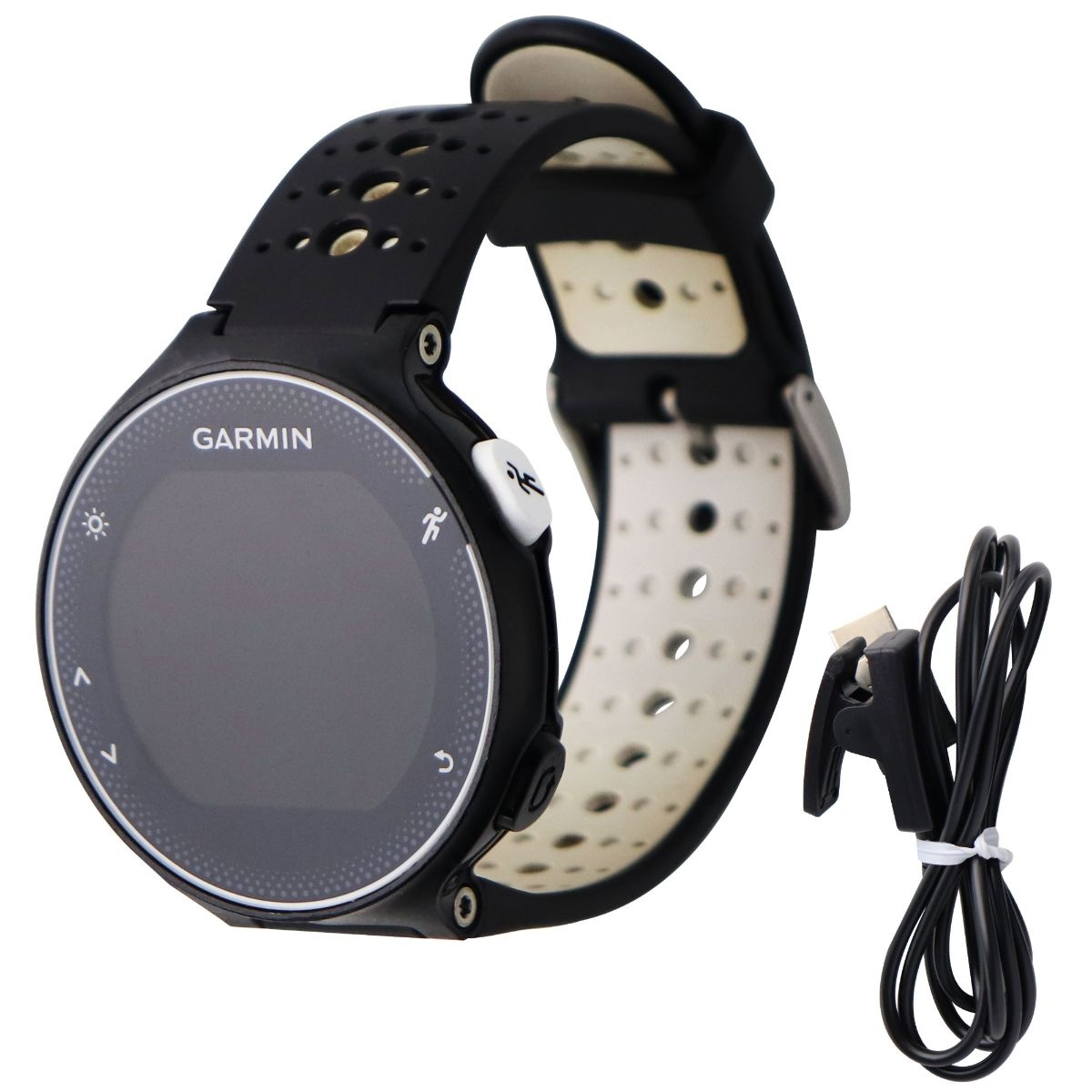 Garmin Forerunner 230 Performance GPS Running Watch - Black / White