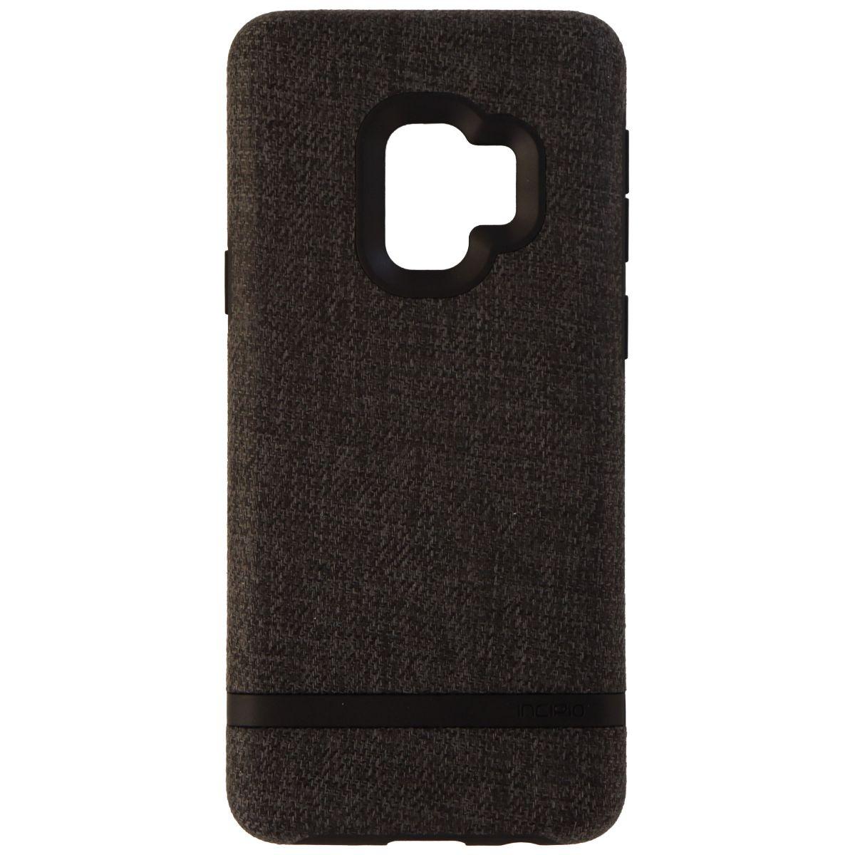Incipio Esquire Series Fabric Case for Samsung Galaxy S9 - Dark Gray/Black