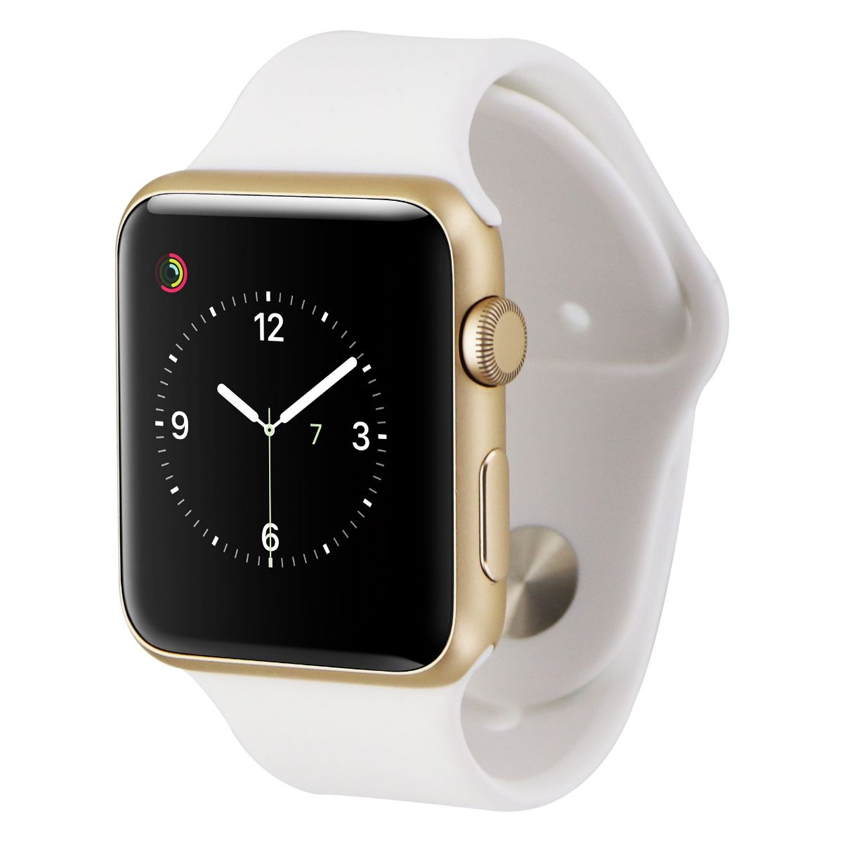 Apple Watch Series 1 (42mm) A1803 - Gold Aluminum / White Band