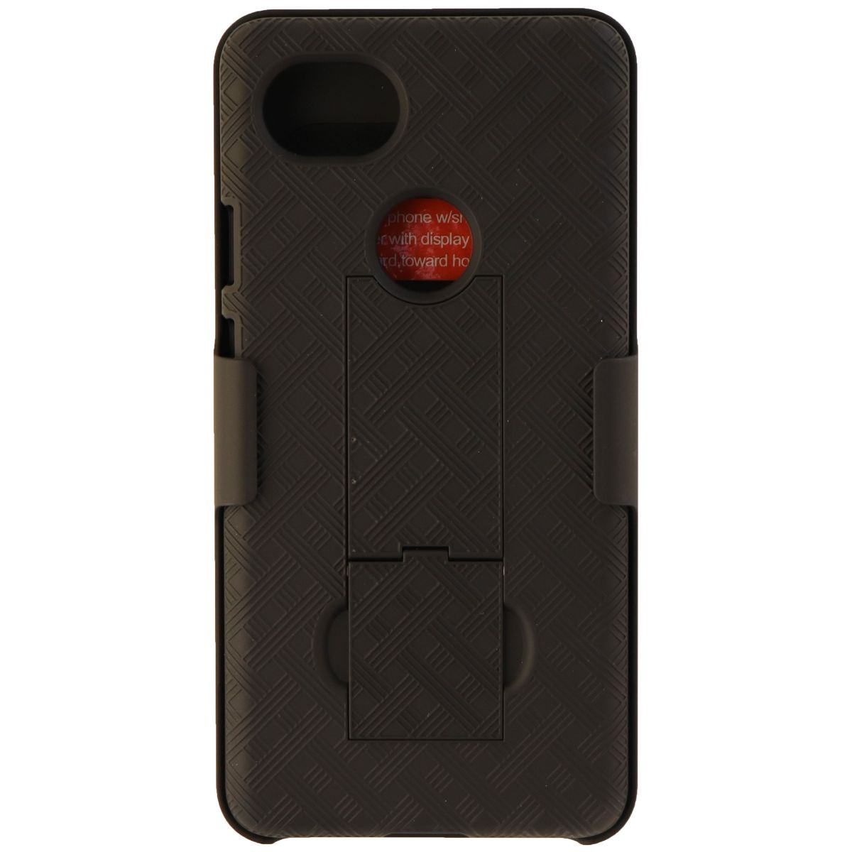 Verizon Kickstand Shell Case and Holster Combo for Google Pixel 2 - Black