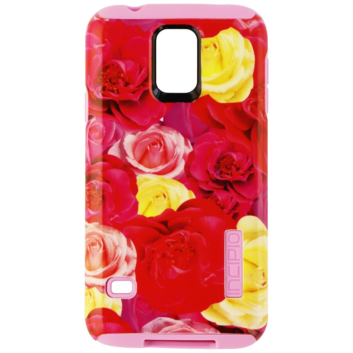 Incipio Dual Pro Series Protective Case Cover for Samsung Galaxy S5 - Flower
