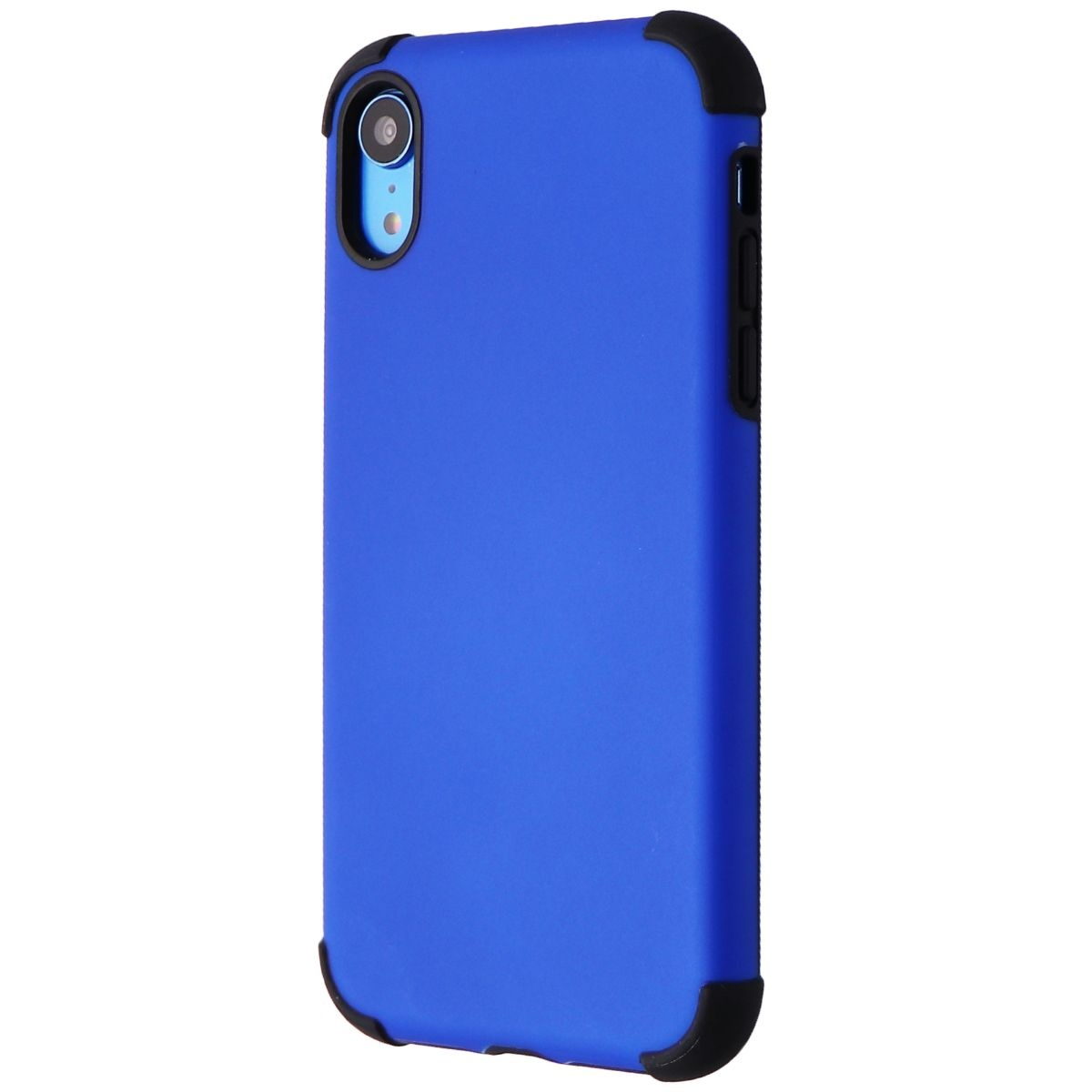 Verizon (WTLPLTATCOVBLU) Rubberized Slim Case for iPhone XR - Blue