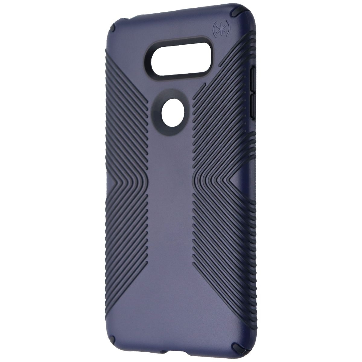 Speck Presidio Grip Phone Case for LG V30 - Eclipse Blue / Carbon Black