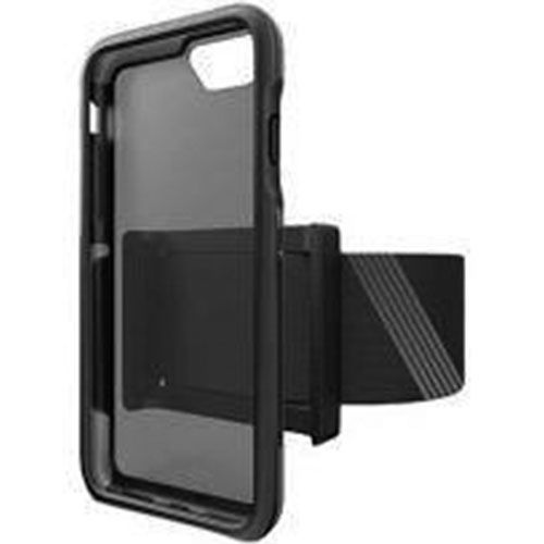 BodyGuardz Trainr Pro Case and Armband for Apple iPhone 8 7 6s - Frost/Black
