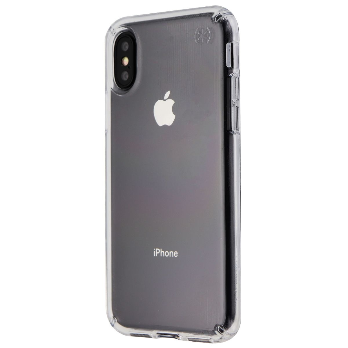 Speck Presidio Stay Clear Series Hard Case for Apple iPhone XS / X - Clear