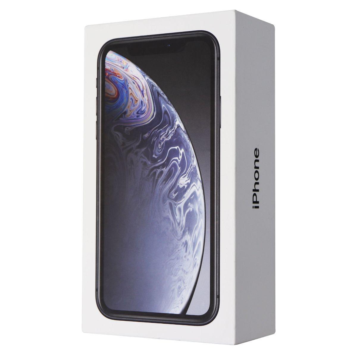 RETAIL BOX - Apple iPhone XR - 256GB / Black - NO DEVICE