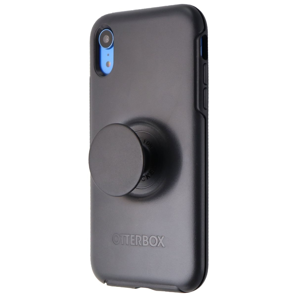 OtterBox + Pop Symmetry Series Phone Case for iPhone XR - Black